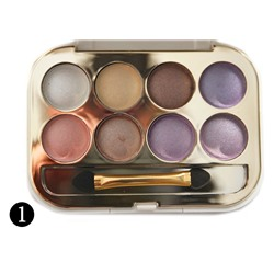 "Тени Versace ""Quadra Eyeshadow Personalized eye makeup"" 8 цв., 5.00