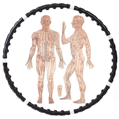 Обруч Массажный Massaging Hoop Exerciser Professional